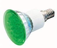 LP-162 Lámpara de 24 LEDs E-14 230Vac/1,8W luz de color verde